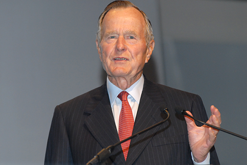President George Bush Senior