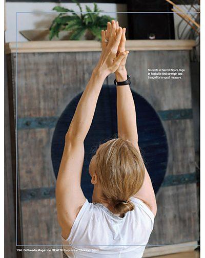 Bethesda Magazine Fitness story