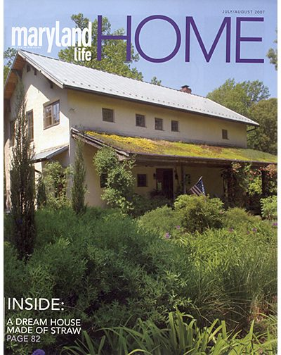 MDlife story on  Straw Bale House
